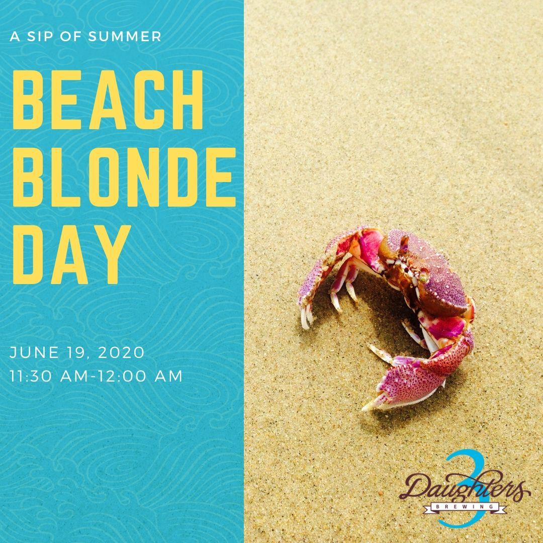 A Sip of Summer: Beach Blonde Day