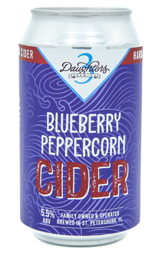 BLUEBERRY PEPPERCORN CIDER