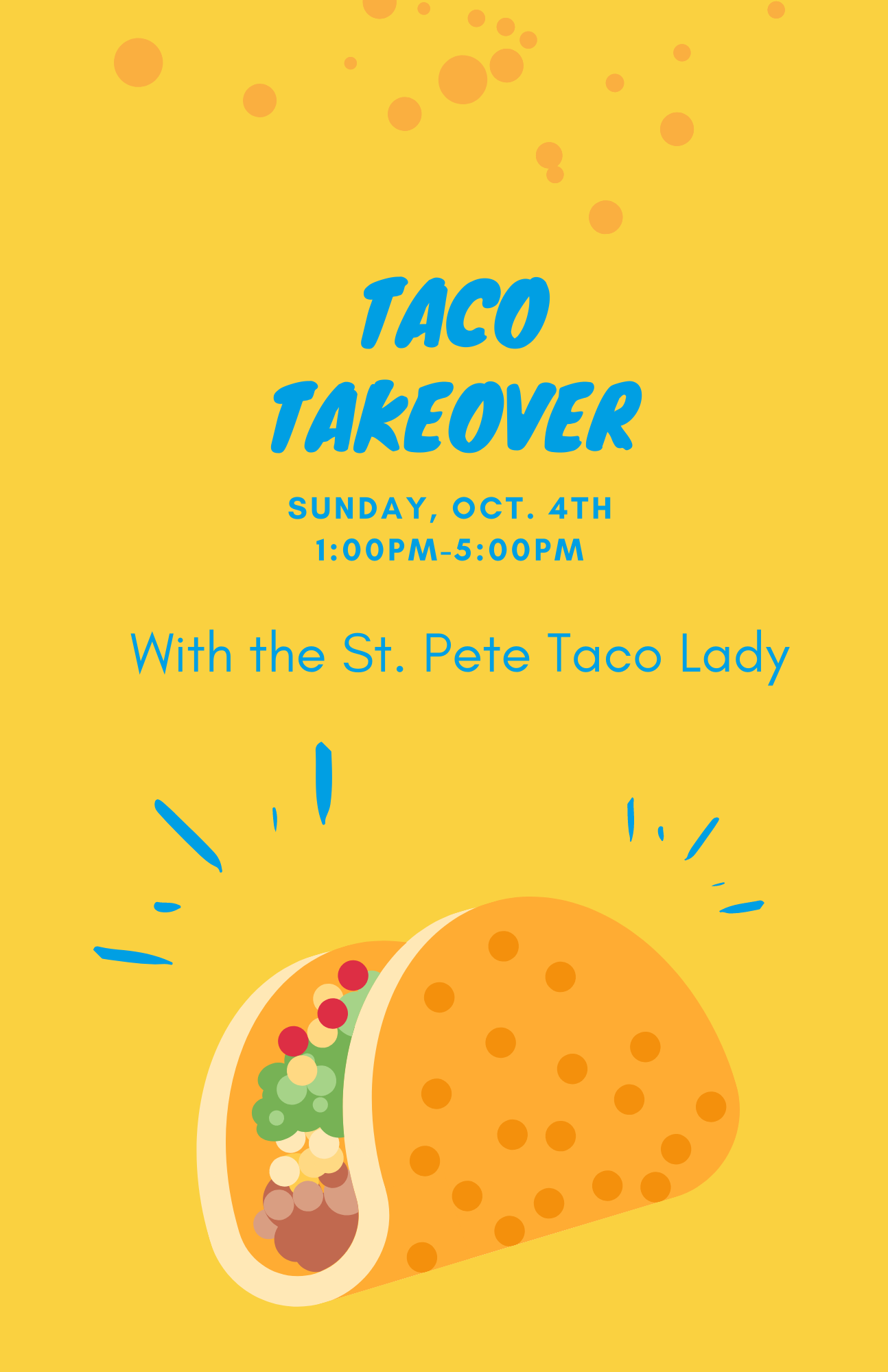 Taco Takeover With The St. Pete Taco Lady