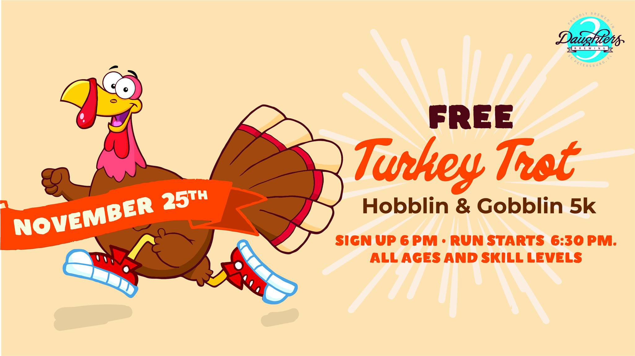 3 Miles from 3 Daughters – Turkey Trot